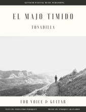 El_Majo_Timido_Granados_Voice_Guitar_Sheet_Music