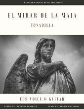El_mirar_de_la_Maja_Granados_Voice_Guitar_Sheet_Music