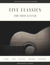 Five_Classics_Guitar_Sheet_Music