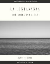 La_Lontananza_Albeniz_Voice_Guitar_Sheet_Music