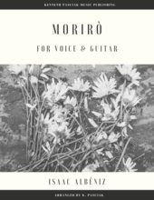 Moriró_Albeniz_Voice_Guitar_Sheet_Music