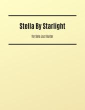 Stella by Starlight jazz guitar sheet music
