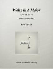 Brahms Waltz in A Major for Guitar