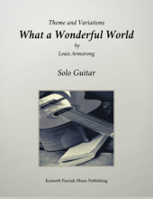 What a Wonderful World Louis Armstrong Guitar Sheet Music