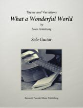 What a Wonderful World Louis Armstrong Guitar Sheet Music