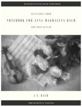Notebook for Anna Magdalena Guitar Sheet Music